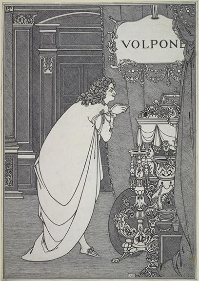 Volpone Adoring his Treasure 1898