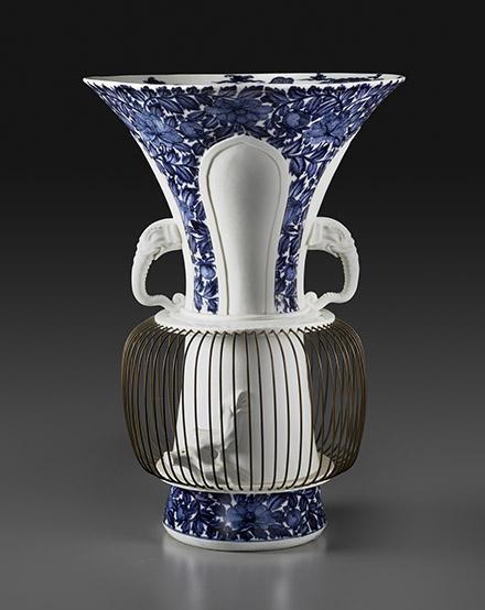 Birdcage Vase,