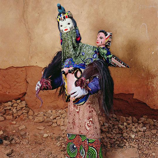 Aye Loja Gelede Masquerade by Phyllis Galembo