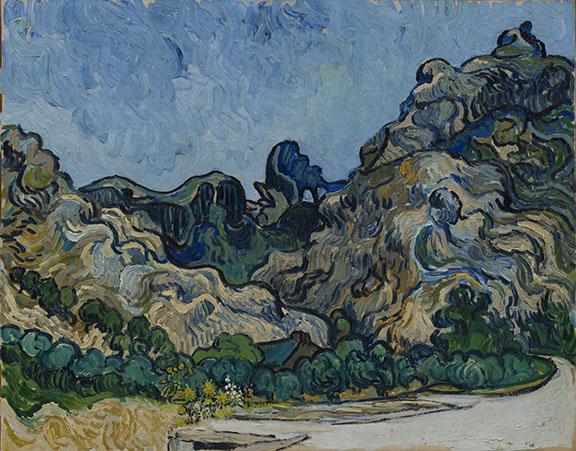 van-Gogh-Mountains-at-Saint-Rémy