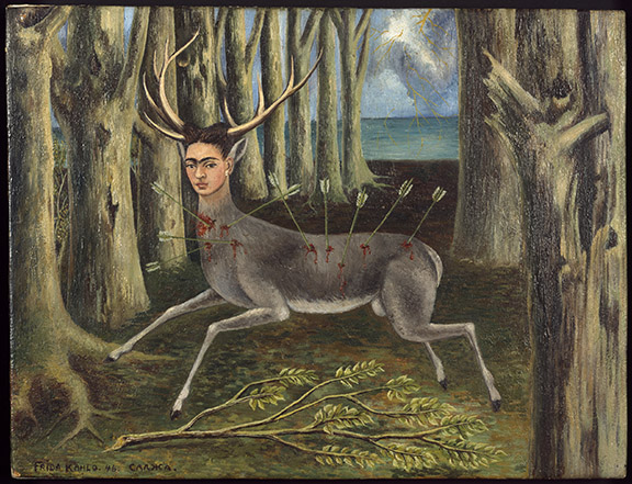 Schirn_Presse_Frida_Kahlo_The_little_Deer_1946_photo_Nathan_Keay__c_MCA_Chicago