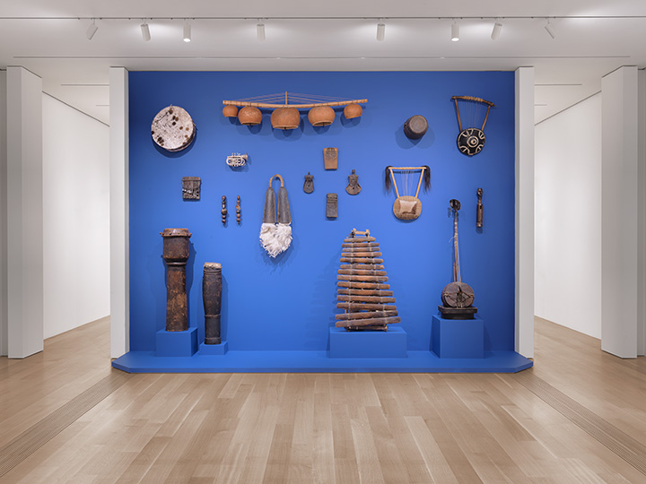 Terry Adkins_Lower East Gallery_Instrument Wall